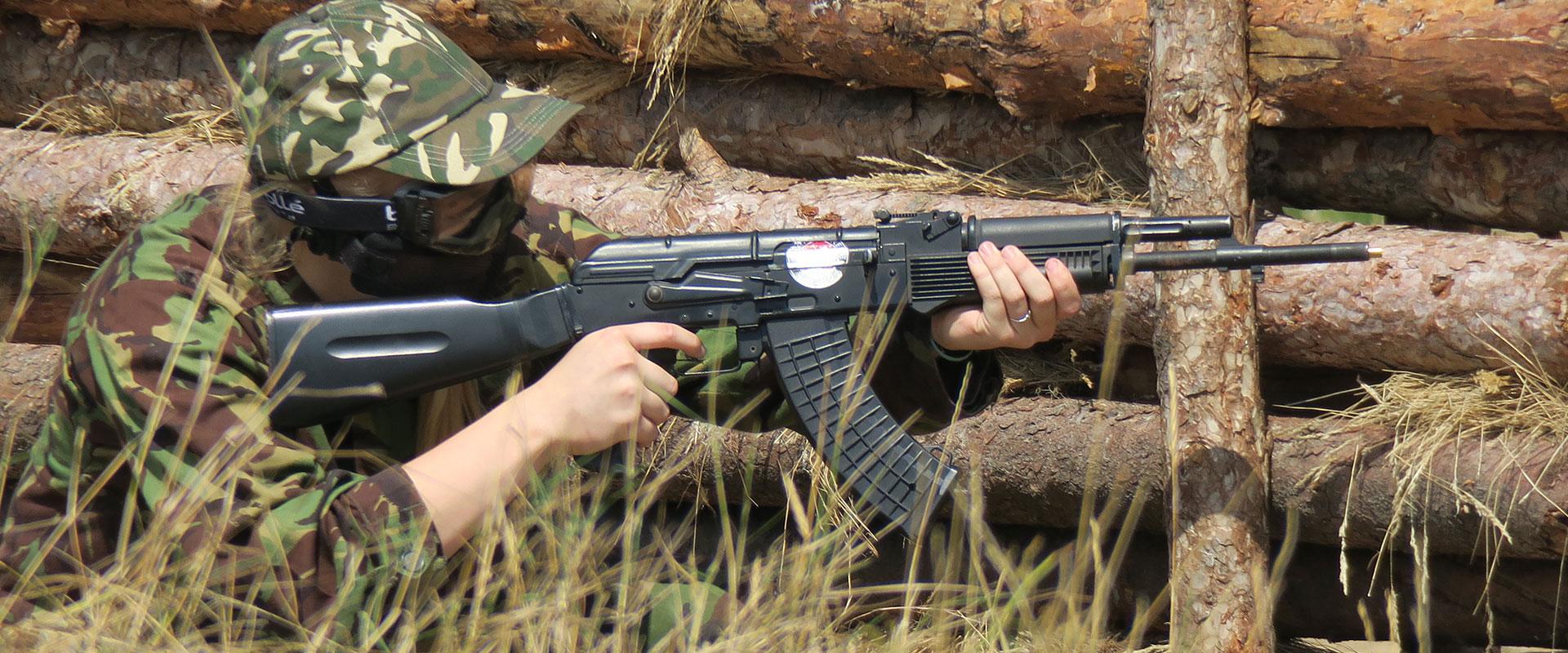 DELTA FORCE OBÓZ ASG LEVEL 2