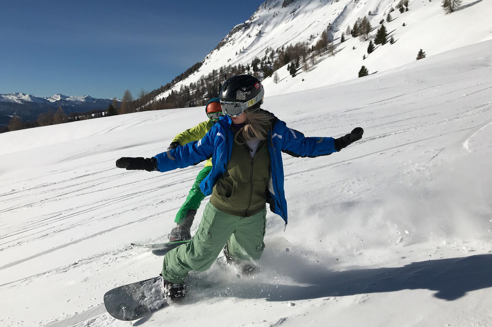 WŁOCHY – HAMAK SNOWBOARD CAMP – Val di Fiemme – 2020